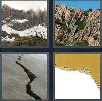 4 Pics 1 Word Levels Jagged