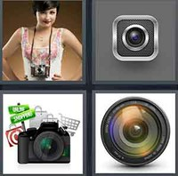 4 Pics 1 Word Levels Camera