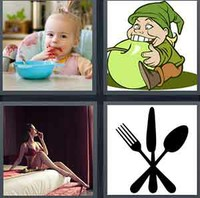 4 Pics 1 Word Levels Eat