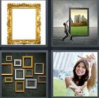 4 Pics 1 Word Levels Frame