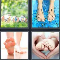 4 Pics 1 Word Levels Feet