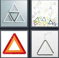 4 Pics 1 Word Levels Triangle