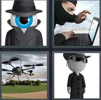 4 Pics 1 Word Levels Spy