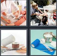 4 Pics 1 Word Levels Bandage