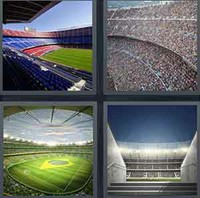 4 Pics 1 Word Levels Stadium