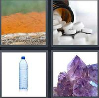 4 Pics 1 Word Levels Mineral