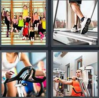 4 Pics 1 Word Levels Gym