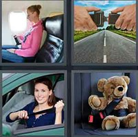 4 Pics 1 Word Levels Seatbelt
