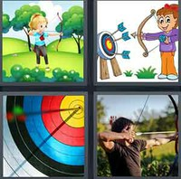 4 Pics 1 Word Levels Archer