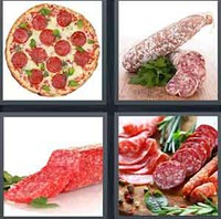 4 Pics 1 Word Levels Salami