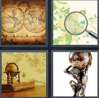 4 Pics 1 Word Levels Atlas