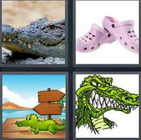 4 Pics 1 Word Levels Croc
