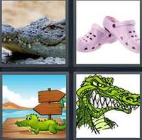 4 Pics 1 Word Levels Croc