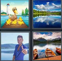 4 Pics 1 Word Levels Lake