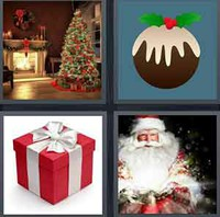 4 Pics 1 Word Levels Xmas