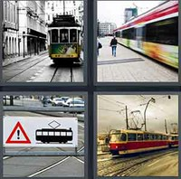 4 Pics 1 Word Levels Tram
