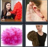 4 Pics 1 Word Wig