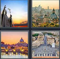 4 Pics 1 Word Levels Vatican
