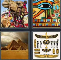 4 Pics 1 Word Levels Egypt