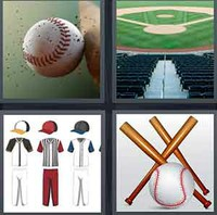 4 Pics 1 Word Levels Baseball
