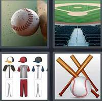 4 Pics 1 Word Levels Baseball