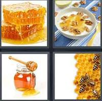 4 Pics 1 Word Levels Honey