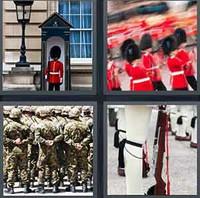 4 Pics 1 Word Levels Guards