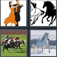 4 Pics 1 Word Levels Gallop