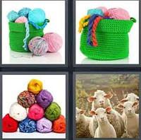 4 Pics 1 Word Levels Wool