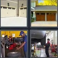 4 Pics 1 Word Levels Garage