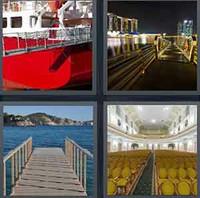 4 Pics 1 Word Levels Gangway